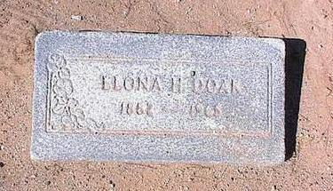 DOAK, ELONA H. - Pinal County, Arizona | ELONA H. DOAK - Arizona Gravestone Photos