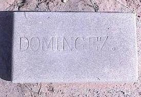 DOMINQUEZ, UNKNOWN - Pinal County, Arizona | UNKNOWN DOMINQUEZ - Arizona Gravestone Photos