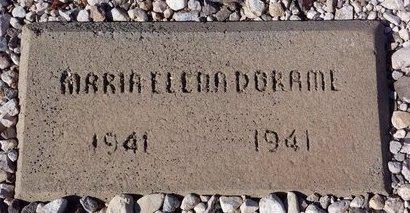 DORAME, MARIA ELENA - Pinal County, Arizona   MARIA ELENA DORAME - Arizona Gravestone Photos