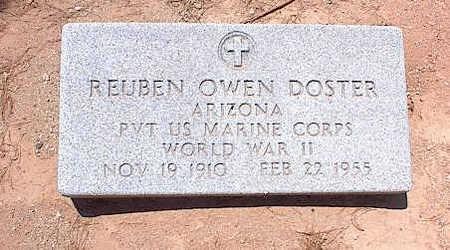 DOSTER, REUBEN OWEN - Pinal County, Arizona | REUBEN OWEN DOSTER - Arizona Gravestone Photos