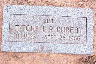 DURANT, MITCHELL R. - Pinal County, Arizona | MITCHELL R. DURANT - Arizona Gravestone Photos