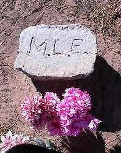 E., M.L. - Pinal County, Arizona | M.L. E. - Arizona Gravestone Photos