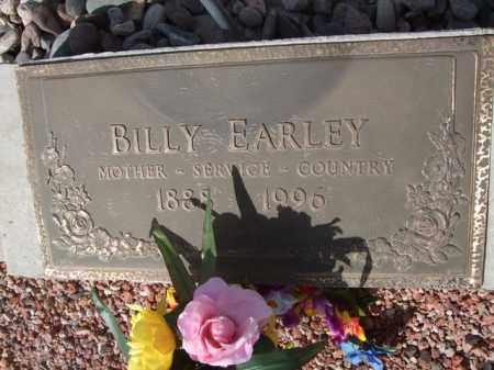 EARLEY, BILLY - Pinal County, Arizona | BILLY EARLEY - Arizona Gravestone Photos