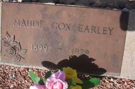 COX EARLEY, MAUDE - Pinal County, Arizona | MAUDE COX EARLEY - Arizona Gravestone Photos