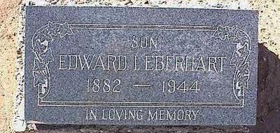 EBERHART, EDWARD L. - Pinal County, Arizona | EDWARD L. EBERHART - Arizona Gravestone Photos