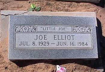 ELLIOT, JOE - Pinal County, Arizona   JOE ELLIOT - Arizona Gravestone Photos