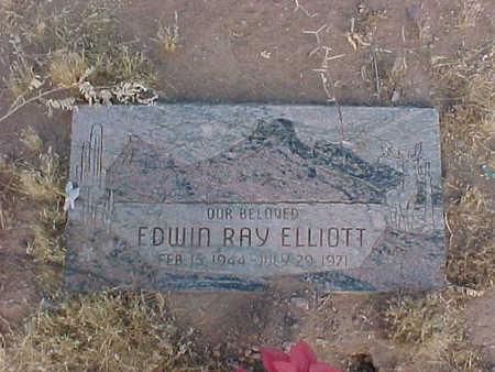 ELLIOTT, EDWIN RAY - Pinal County, Arizona | EDWIN RAY ELLIOTT - Arizona Gravestone Photos