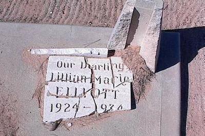 ELLIOTT, LILLIAN MARIE - Pinal County, Arizona | LILLIAN MARIE ELLIOTT - Arizona Gravestone Photos