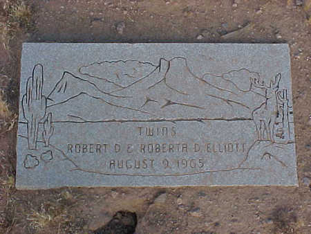 ELLIOTT, ROBERT D. - Pinal County, Arizona | ROBERT D. ELLIOTT - Arizona Gravestone Photos