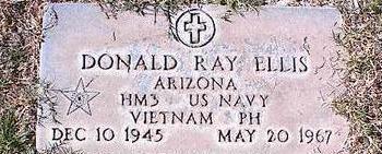 ELLIS, DONALD RAY - Pinal County, Arizona   DONALD RAY ELLIS - Arizona Gravestone Photos