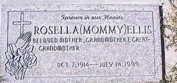 ELLIS, ROSELLA [MOMMY] - Pinal County, Arizona | ROSELLA [MOMMY] ELLIS - Arizona Gravestone Photos