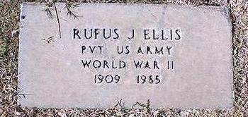 ELLIS, RUFUS J. - Pinal County, Arizona | RUFUS J. ELLIS - Arizona Gravestone Photos