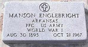 ENGLEBRIGHT, MANSON - Pinal County, Arizona | MANSON ENGLEBRIGHT - Arizona Gravestone Photos