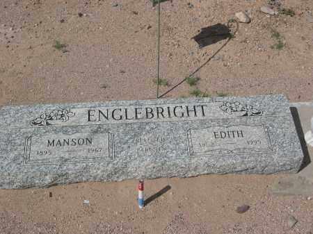 ENGLEBRIGHT, MANSON - Pinal County, Arizona | MANSON ENGLEBRIGHT - Arizona Gravestone Photos