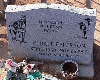EPPERSON, C. DALE - Pinal County, Arizona | C. DALE EPPERSON - Arizona Gravestone Photos