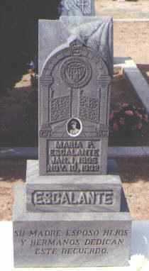ESCALANTE, MARIA P. - Pinal County, Arizona | MARIA P. ESCALANTE - Arizona Gravestone Photos