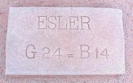 ESLER, UNKNOWN - Pinal County, Arizona | UNKNOWN ESLER - Arizona Gravestone Photos