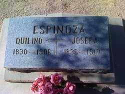 ESPINOZA, QUILINO - Pinal County, Arizona | QUILINO ESPINOZA - Arizona Gravestone Photos