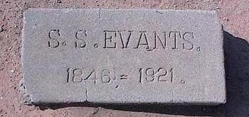 EVANTS, S.S. - Pinal County, Arizona | S.S. EVANTS - Arizona Gravestone Photos