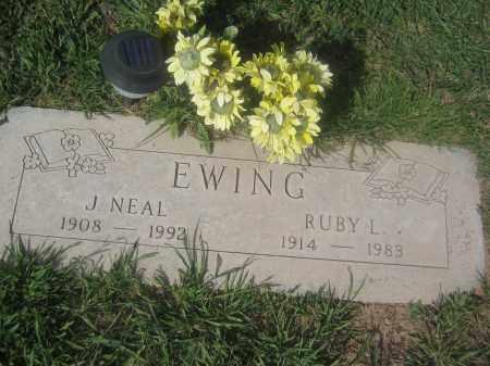 EWING, J. NEAL - Pinal County, Arizona | J. NEAL EWING - Arizona Gravestone Photos