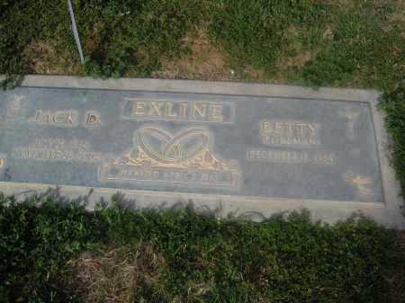 EXLINE, JACK D. - Pinal County, Arizona   JACK D. EXLINE - Arizona Gravestone Photos