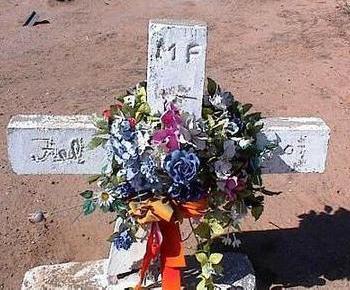 F., M. - Pinal County, Arizona   M. F. - Arizona Gravestone Photos