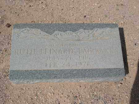 FAIRBANKS, RUTH LEINARD - Pinal County, Arizona | RUTH LEINARD FAIRBANKS - Arizona Gravestone Photos