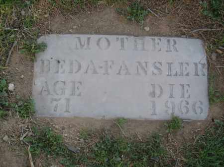 FANSLER, BEDA - Pinal County, Arizona | BEDA FANSLER - Arizona Gravestone Photos