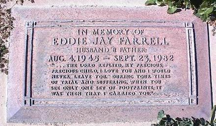 FARRELL, EDDIE JAY - Pinal County, Arizona   EDDIE JAY FARRELL - Arizona Gravestone Photos