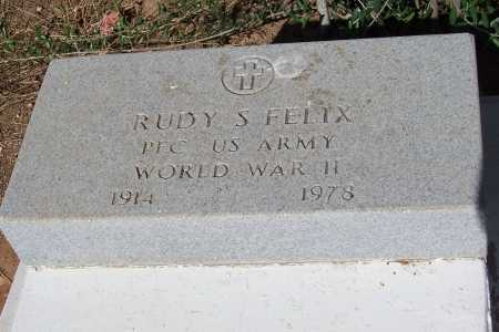 FELIX, RUDY S. - Pinal County, Arizona | RUDY S. FELIX - Arizona Gravestone Photos