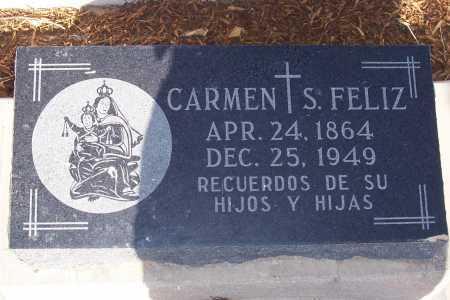 FELIZ, CARMEN S. - Pinal County, Arizona | CARMEN S. FELIZ - Arizona Gravestone Photos