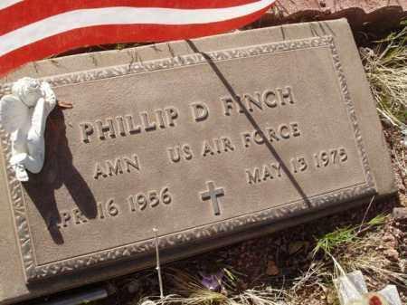 FINCH, PHILLIP D. - Pinal County, Arizona   PHILLIP D. FINCH - Arizona Gravestone Photos