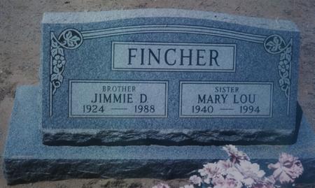 FINCHER, MARY LOU - Pinal County, Arizona | MARY LOU FINCHER - Arizona Gravestone Photos