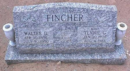 FINCHER, WALTER G. - Pinal County, Arizona   WALTER G. FINCHER - Arizona Gravestone Photos