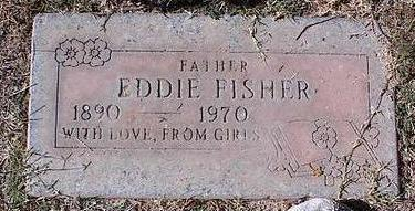 FISHER, EDDY - Pinal County, Arizona | EDDY FISHER - Arizona Gravestone Photos