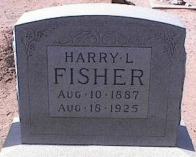 FISHER, HARRY L. - Pinal County, Arizona | HARRY L. FISHER - Arizona Gravestone Photos
