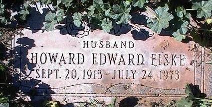 FISKE, HOWARD EDWARD - Pinal County, Arizona | HOWARD EDWARD FISKE - Arizona Gravestone Photos