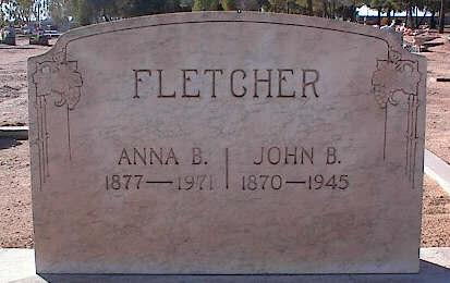 FLETCHER, ANNA B. - Pinal County, Arizona | ANNA B. FLETCHER - Arizona Gravestone Photos