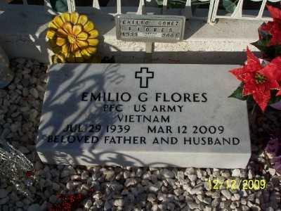 FLORES, EMILIO 'CHARRAS'  G. - Pinal County, Arizona | EMILIO 'CHARRAS'  G. FLORES - Arizona Gravestone Photos