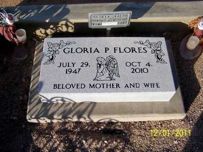FLORES, GLORIA - Pinal County, Arizona | GLORIA FLORES - Arizona Gravestone Photos
