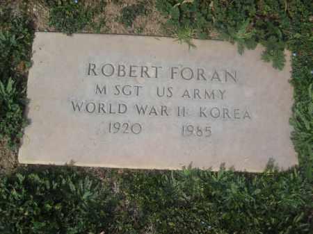 FORAN, ROBERT - Pinal County, Arizona | ROBERT FORAN - Arizona Gravestone Photos