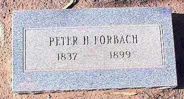 FORBACH, PETER H. - Pinal County, Arizona   PETER H. FORBACH - Arizona Gravestone Photos