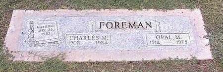 FOREMAN, CHARLES M. - Pinal County, Arizona | CHARLES M. FOREMAN - Arizona Gravestone Photos