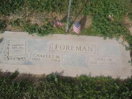 FOREMAN, OPAL M. - Pinal County, Arizona   OPAL M. FOREMAN - Arizona Gravestone Photos