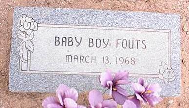 FOUTS, BABY BOY - Pinal County, Arizona   BABY BOY FOUTS - Arizona Gravestone Photos