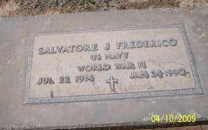 FREDERICO, SALVATORE J. - Pinal County, Arizona | SALVATORE J. FREDERICO - Arizona Gravestone Photos