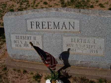 FREEMAN, HERBERT H. - Pinal County, Arizona | HERBERT H. FREEMAN - Arizona Gravestone Photos