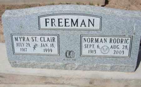 FREEMAN, MYRA - Pinal County, Arizona   MYRA FREEMAN - Arizona Gravestone Photos