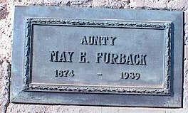 WALGENBACH FURBACK, MAY - Pinal County, Arizona | MAY WALGENBACH FURBACK - Arizona Gravestone Photos