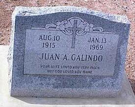 GALINDO, JUAN A. - Pinal County, Arizona   JUAN A. GALINDO - Arizona Gravestone Photos